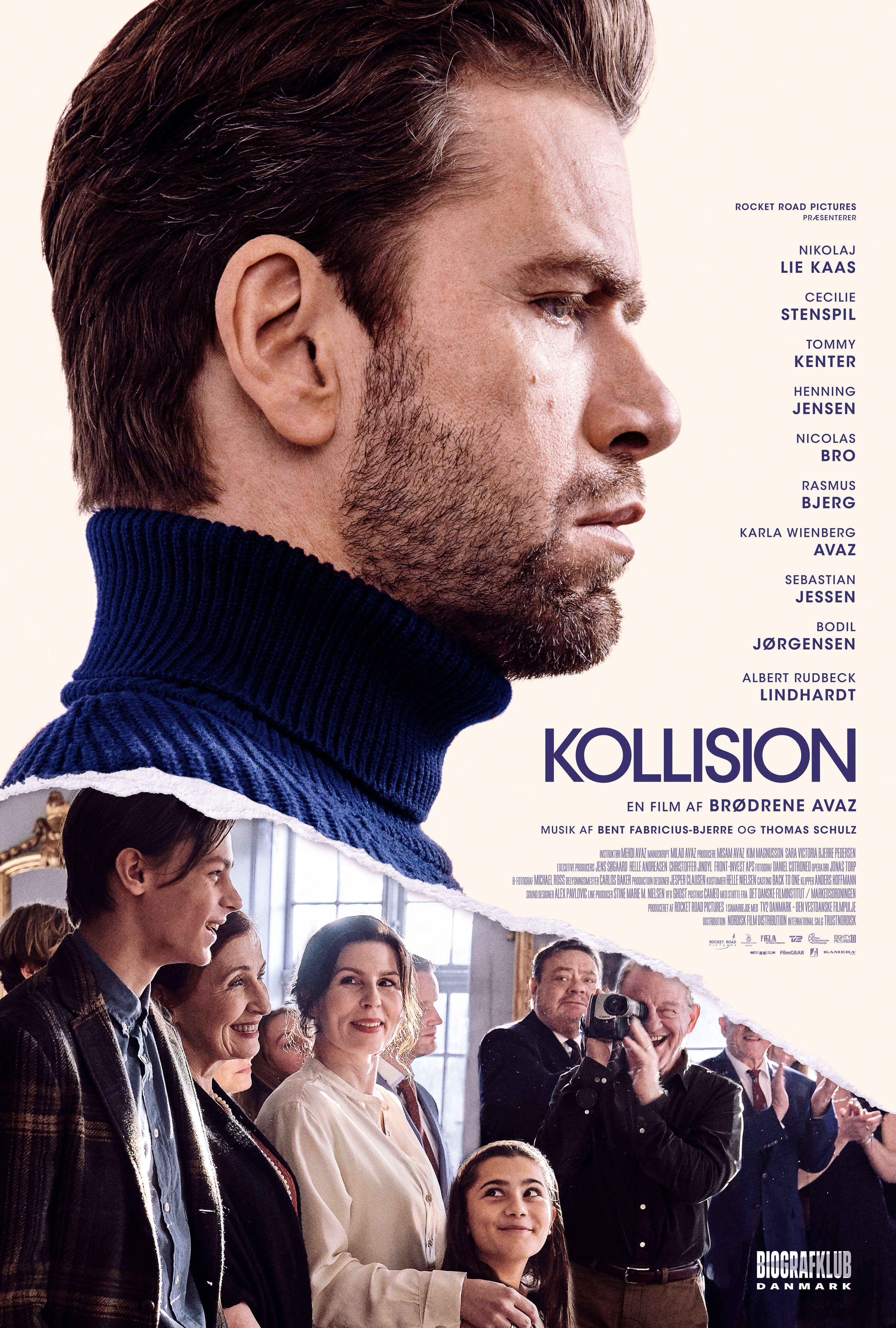 Kollision. Poster for the movie.